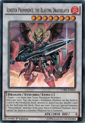Ignister Prominence the Blasting Dracoslayer CORE