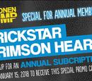 Weekly Shonen Jump January 2018 membership promotional card
