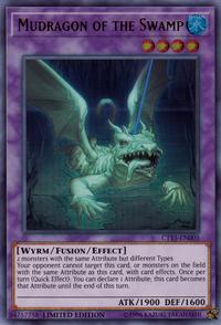 YuGiOh! TCG karta: Mudragon of the Swamp