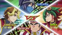 Yuya VS Sylvio VS Gong VS Tsukikage