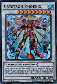YuGiOh! TCG karta: Crystron Phoenix