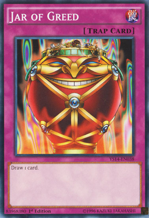 Jar of Greed - Baza Kart Yu-Gi-Oh! - YuGiOh pl