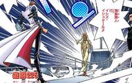 Seto Kaiba and Ishizu Ishtar's Duel (manga)