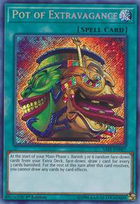 YuGiOh! TCG karta: Pot of Extravagance