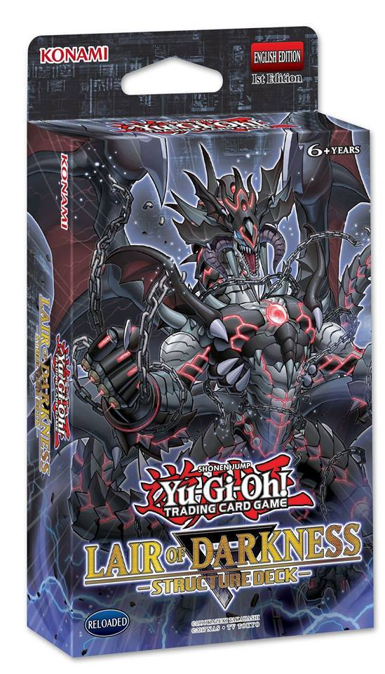 Lair of Darkness Structure Deck | Yu-Gi-Oh! | FANDOM powered