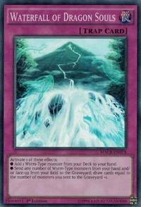 YuGiOh! TCG karta: Waterfall of Dragon Souls
