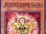 Duelist Name Card