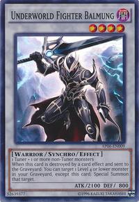 YuGiOh! TCG karta: Underworld Fighter Balmung