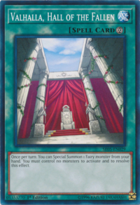YuGiOh! TCG karta: Valhalla, Hall of the Fallen