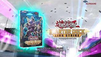Yugioh Konami Commercial Starter Deck Link Strike TCG