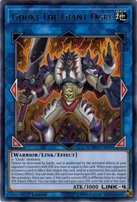 YuGiOh! TCG karta: Gouki The Giant Ogre