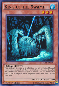 YuGiOh! TCG karta: King of the Swamp