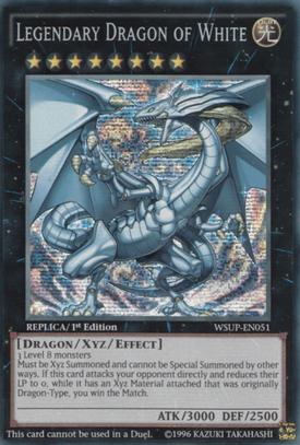 Legendary Dragon of White WSUP