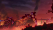 Three Chaos Gaints Attacking Heartland