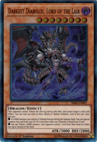 YuGiOh! TCG karta: Darkest Diabolos, Lord of the Lair