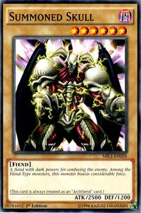 YuGiOh! TCG karta: Summoned Skull