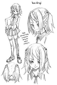 Yuzu Manga Concept Art