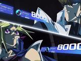 Seto Kaiba and Virtual Dark Yugi's Duel