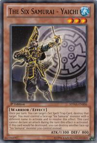 YuGiOh! TCG karta: The Six Samurai - Yaichi