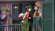 Yuya and Crow argue 2