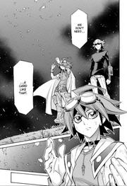 Yuya destroys GOD card