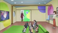 Den orphanage TV room