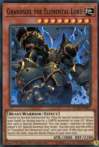 YuGiOh! TCG karta: Grandsoil the Elemental Lord