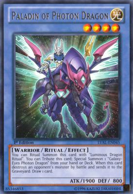 Paladin of Photon Dragon LVAL