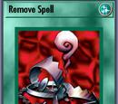 Remove Spell