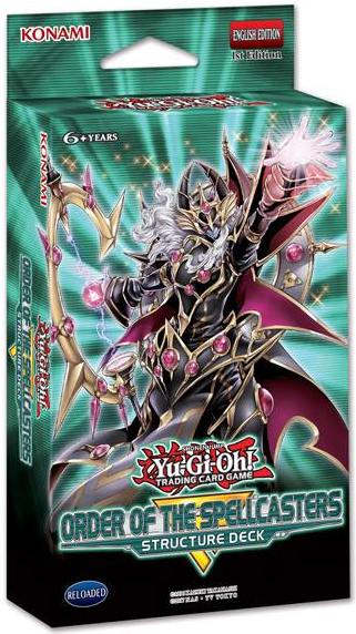 Structure Deck: Order of the Spellcasters | Yu-Gi-Oh