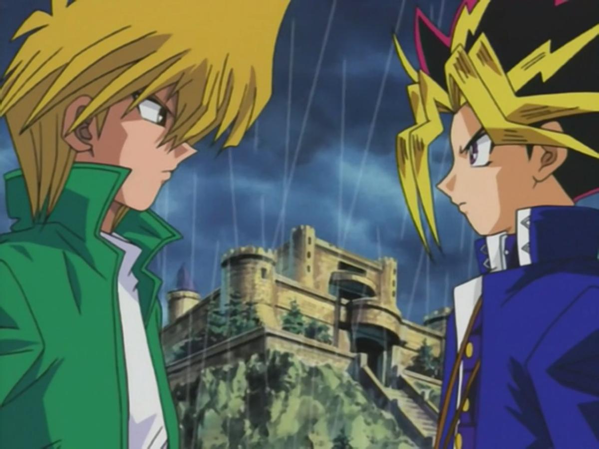 yami yugi and joey u0027s duelist kingdom duel yu gi oh fandom