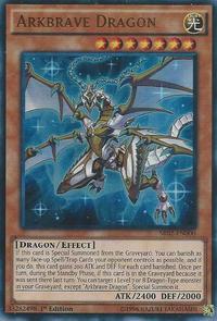 YuGiOh! TCG karta: Arkbrave Dragon