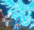 Aura of 'Galaxy-Eyes Photon Dragon' around Kite Tenjo.png
