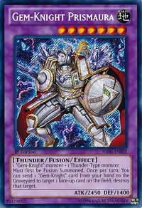 YuGiOh! TCG karta: Gem-Knight Prismaura