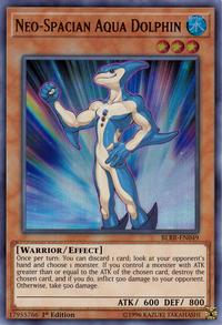 YuGiOh! TCG karta: Neo-Spacian Aqua Dolphin