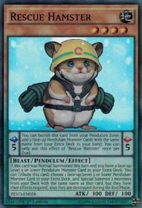 YuGiOh! TCG karta: Rescue Hamster