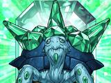 Bestia Cristallo Tartaruga Smeraldo