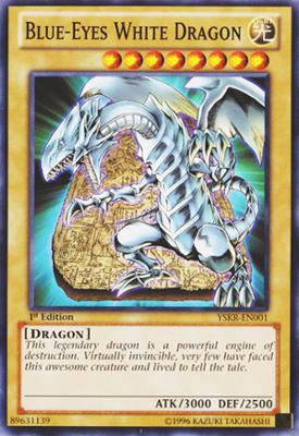 Blue Eyes White Dragon YSKR