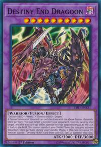YuGiOh! TCG karta: Destiny End Dragoon