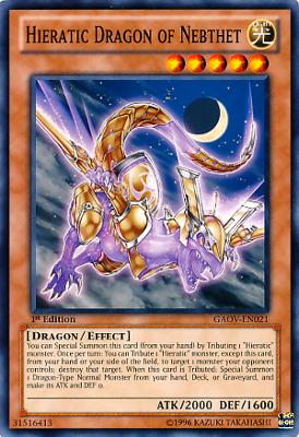 Hieratic Dragon of Nebthet GAOV