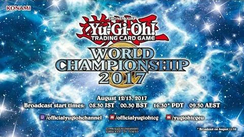 Yu-Gi-Oh! World Championship 2017 Finals Live Broadcast