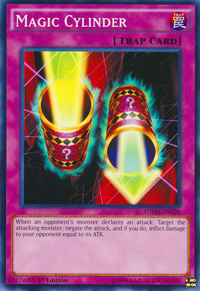 YuGiOh! TCG karta: Magic Cylinder