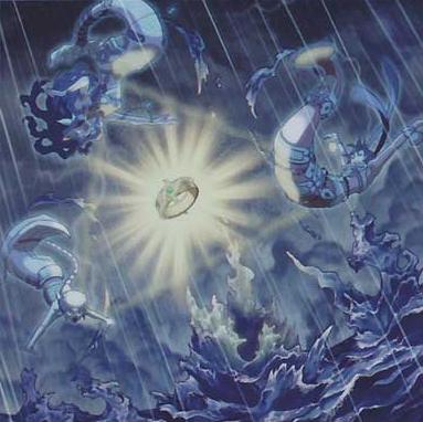 Yugioh Mermail Abyss Set 7 Cards Kraken Mizuchi Scorn Abysshilde Abyssocea