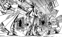 Dark Yugi, Seto Kaiba and the Rare Hunter Tag's Duel (manga)