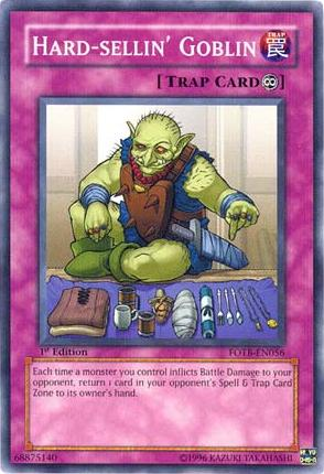 Hard-sellin' Goblin | Yu-Gi-Oh! | FANDOM powered by Wikia