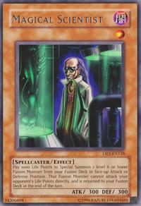 YuGiOh! TCG karta: Magical Scientist