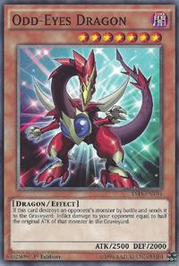 YuGiOh! TCG karta: Odd-Eyes Dragon