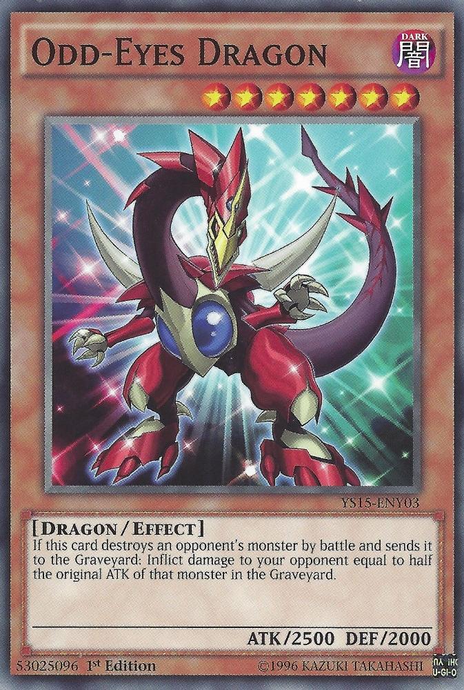 Odd Eyes Dragon オッドアイズ ドラゴン