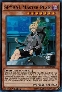 YuGiOh! TCG karta: SPYRAL Master Plan
