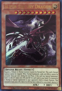 YuGiOh! TCG karta: Slifer the Sky Dragon
